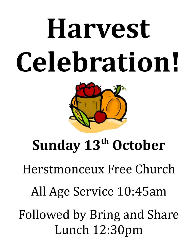 2013 Harvest Invitation Poster