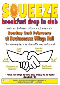 Squeeze monthly poster